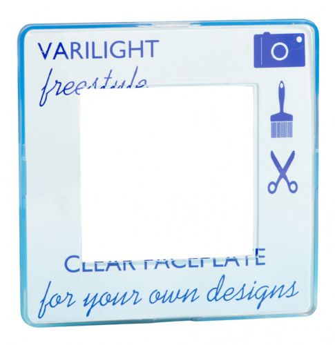 Varilight XIFG2C Freestyle Clear DataGrid Plate (2 DataGrid Spaces)